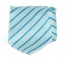 Goldenland nyakkendő - Türkíz csíkos