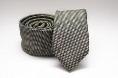 Prémium slim nyakkendő - Keki mintás