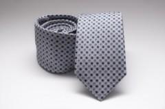 Prémium slim nyakkendő - Ezüst mintás
