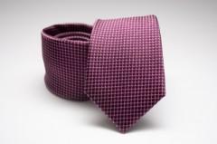Prémium selyem nyakkendő - Ibolya Kockás nyakkendők