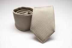 Prémium selyem nyakkendő - Drapp pöttyös Selyem nyakkendők