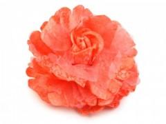 Rózsa kitűző - Narancs