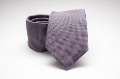 Prémium selyem nyakkendő - Lila Aprómintás nyakkendők