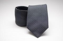 Prémium nyakkendő - Acélszürke mintás