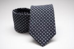 Prémium nyakkendő - Mélykék mintás