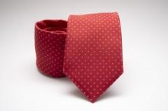 Prémium nyakkendő - Piros pöttyös