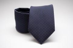 Prémium nyakkendő - Piros-kék pöttyös