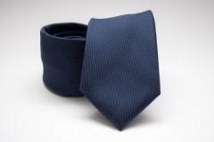 Prémium nyakkendő - Sötétkék mintás