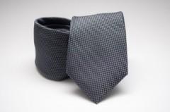 Prémium nyakkendő - Sötétszürke mintás