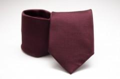Prémium nyakkendő - Bordó aprókockás Kockás nyakkendők