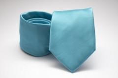 Prémium nyakkendő - Tűrkizkék