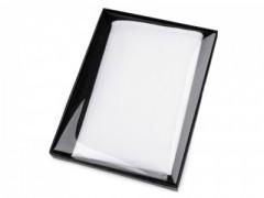 Pamut díszzsebkendő díszdobozban - Fehér Zsebkendők
