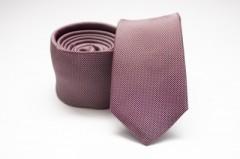 Prémium slim nyakkendő - Bordó