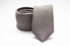 Prémium slim nyakkendő - Barnásszürke