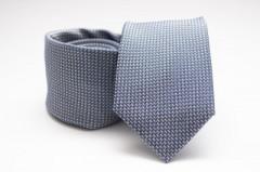 Prémium selyem nyakkendő - Kékesszürke Aprómintás nyakkendők