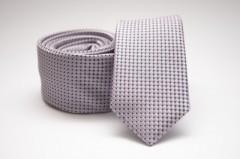 Prémium slim nyakkendő - Rózsaszín pöttyös