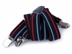 Gyerek nadrágtartó - Kék csíkos Gyermek nadrágtartók