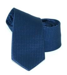 Goldenland slim nyakkendő - Kék mintás Egyszínű nyakkendők