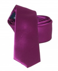 Goldenland slim nyakkendő - Lila szatén Egyszínű nyakkendők