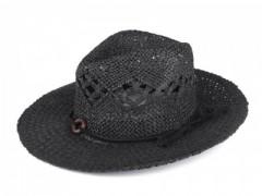 Nyári szalma kalap - Fekete