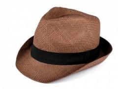 Nyári szalma kalap - Sötétbarna