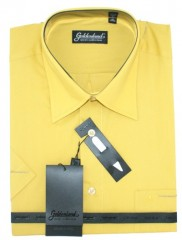 Goldenland rövidujjú ing - Mustár