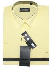 Goldenland rövidujjú ing - Halványsárga Rövidujjú ingek
