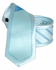 Goldenland slim nyakkendő - Menta mintás