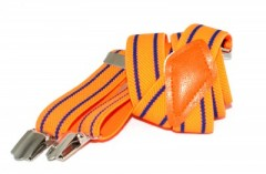 Gyerek nadrágtartó - Narancs csíkos Gyermek nadrágtartók