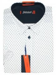Goldenland rövidujjú ing - Fehér aprómintás Rövidujjú ingek
