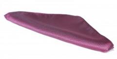 Díszzsebkendő - Pink-lilás pöttyös