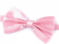Szatén csokornyakkendő - Rózsaszín Csokornyakkendők