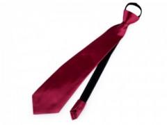 Gumis nyakkendő - Bordó Női nyakkendők