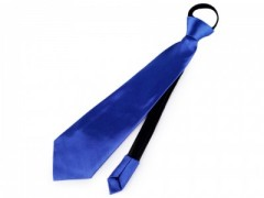 Gumis nyakkendő - Királykék Női nyakkendők