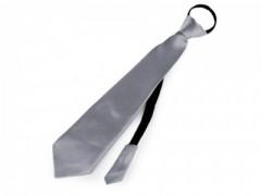 Gumis nyakkendő - Szürke Női nyakkendők