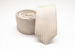 Prémium slim nyakkendő - Natúr mintás