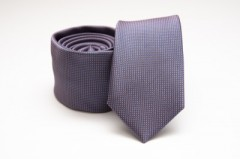 Prémium slim nyakkendő - Kékeslila