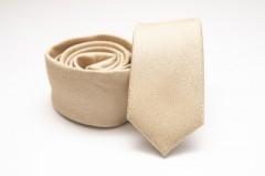 Prémium slim nyakkendő - Natúr melír Mintás nyakkendők