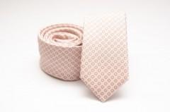 Prémium slim nyakkendő - Púder pöttyös