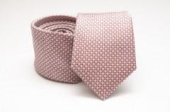 Prémium selyem nyakkendő - Púder mintás Selyem nyakkendők