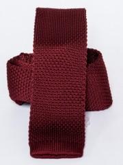 Prémium kötött nyakkendő - Bordó