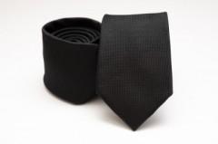 Prémium selyem nyakkendő - Fekete