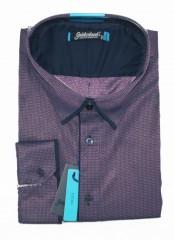 Goldenland extra hosszúujjú ing - Sötétlila Hosszúujjú ingek