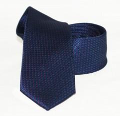 Goldenland slim nyakkendő - Kék-piros pöttyös