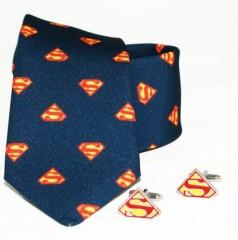 Díszdobozos szett - Superman mintás sötétkék