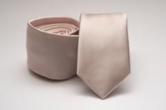 Prémium slim nyakkendő - Halványpúder