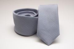 Prémium slim nyakkendő - Halványkék pöttyös