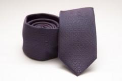 Prémium slim nyakkendő - Sötétlila