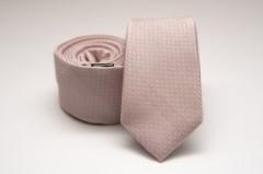 Prémium slim nyakkendő - Halványrózsaszín