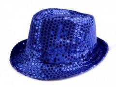 Flitteres kalap - Királykék